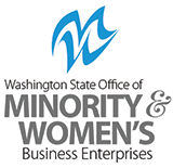 Washington State Office of Minority & Women's Business Enterprises logo